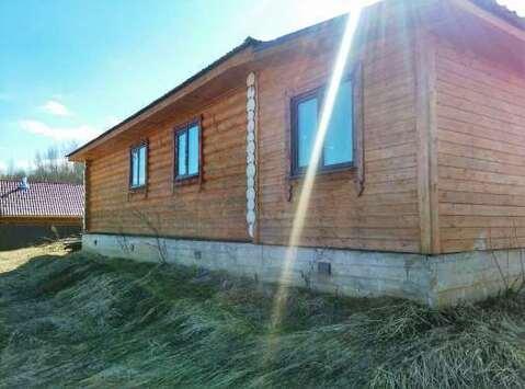 Бревенчатый дом 120кв.м, на 8 сотках земли в СНТ вбл. д.Щелканово - Фото 2