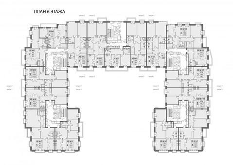 1-но комнатная квартира 59,7 кв. м в доме deluxe на набережной Москва . - Фото 4