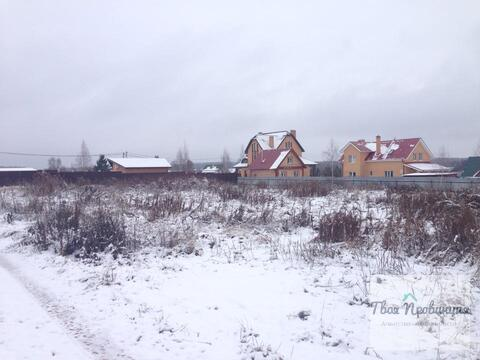 Участок 12,5 соток в деревне Беляево Чеховский район - Фото 2