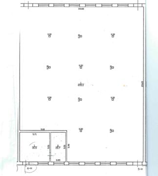 Склад 651 м2, первый этаж, пандус. Кубинская ул. - Фото 5