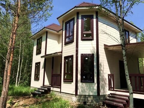 Новый дом в соснах у реки в селе Купанское - Фото 1