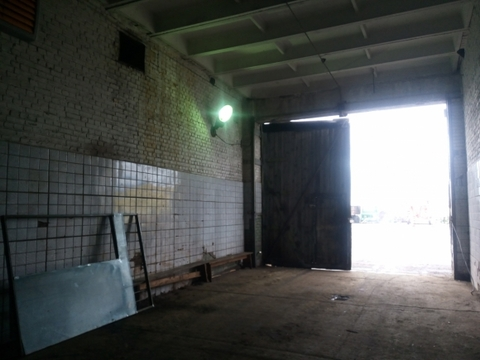 Производственное отапливаемое помещение в Колпино 1500м2 с кран-балкой - Фото 3