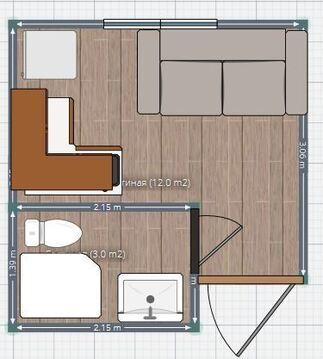 Продам комнату 12 кв.м. со своими удобствами и входной дверью. - Фото 5