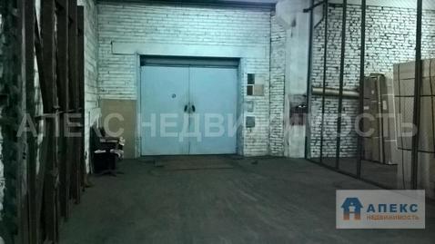 Аренда помещения пл. 1250 м2 под склад, м. Варшавская в складском . - Фото 4