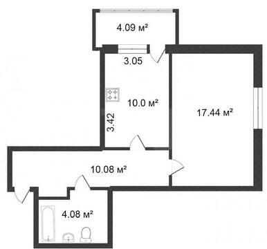 Продам 1-комн. кв. 42 кв.м. Тюмень, Геологоразведчиков проезд - Фото 5