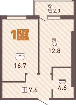 Продажа квартиры, Калининград, Ул. Ростовская - Фото 1