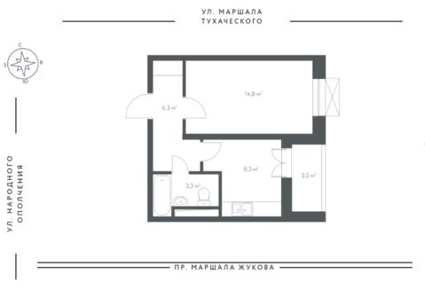 Продам квартиру в новом доме Бизнес класса - Фото 2