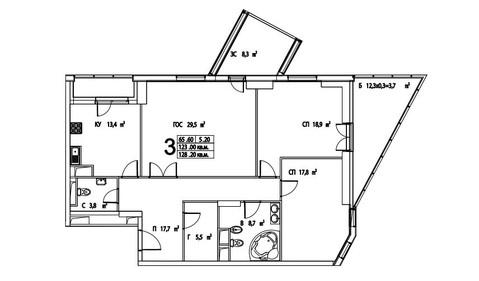 Продаю огромную 3к.кв в доме Премиум класса - Фото 2