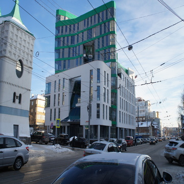 "4 этаж в бизнес-центре класса ""А"" Mont Blanc - Фото 1"