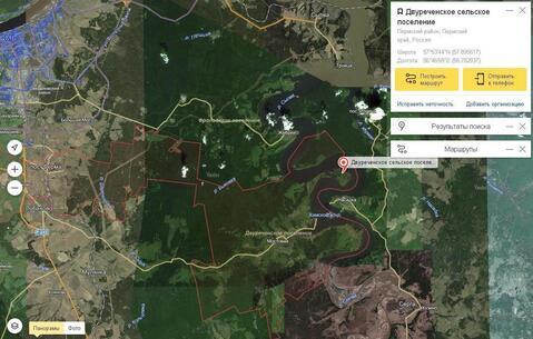 Участки на полуострове реки Сылва , возле дер. Мостовой - Фото 1
