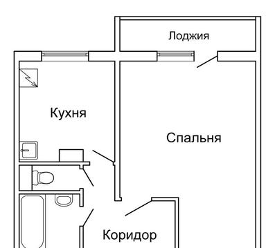 Продам 1-комн. квартиру 38.8 м2, м.Румянцево - Фото 3