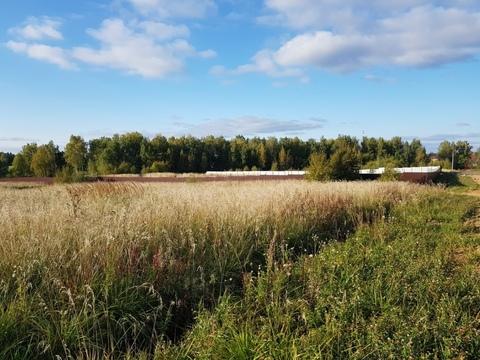Участок 1,5 га земли промышленности в д. Морозово, 40 км от МКАД - Фото 1