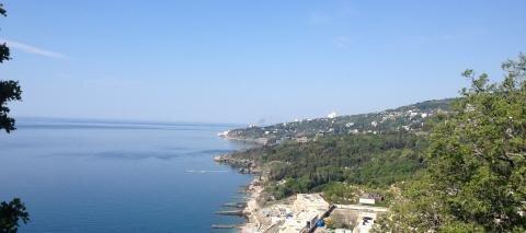 10 соток с панорамным видом на море и Айпетри 5 мин от моря - Фото 1