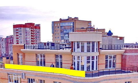 Продажа 5 комн квартиры пентхаус с террасой башней высокими потолками - Фото 1