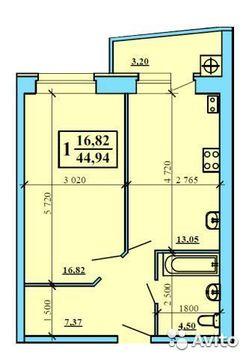 1 комнатная квартира г.Рязань, ул.Касимовское ш. дом 57 к 1 - Фото 2