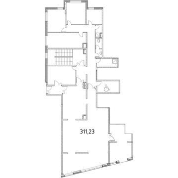 Торговое помещение 366.67 кв.м, м.Ботанический сад - Фото 3