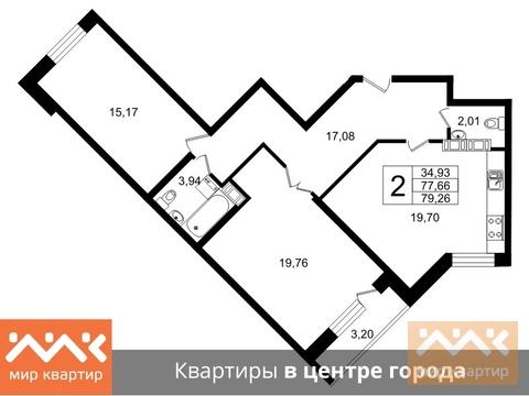 Продажа квартиры, м. Площадь Ленина, Свердловская наб. - Фото 1