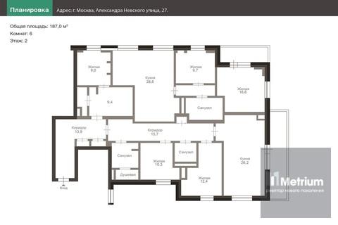 Продажа квартиры, Ул. Александра Невского - Фото 1