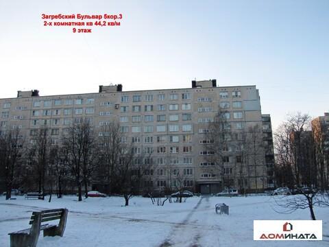 Продам 2-х комнатную кв. 44кв/м Фрунзенский район м.Международная - Фото 1