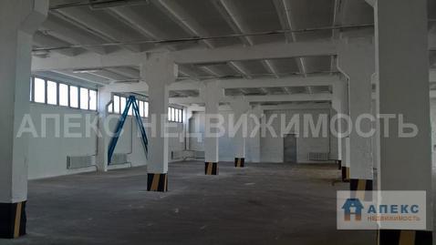 Аренда помещения пл. 1250 м2 под склад, м. Варшавская в складском . - Фото 1