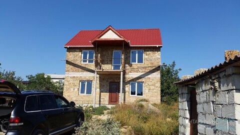 Продается недостроенный 2-х этажный дом в ст Бриг на Фиоленте - Фото 2