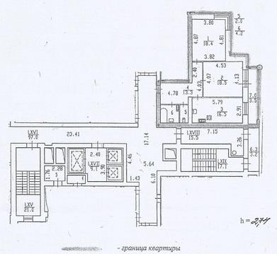 Двухком кв в новом доме на Кондратьевском с мебелью, ремонтом, техникой - Фото 2