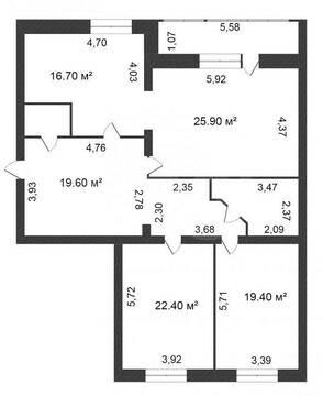 Продам 3-комн. кв. 118 кв.м. Тюмень, Водопроводная - Фото 1