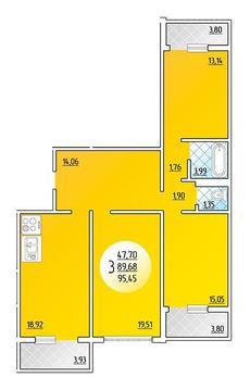 Продажа квартиры, Краснодар, Героев-разведчеков - Фото 1