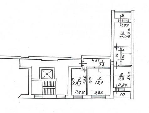 3 кв. улучшенной планировки по Окскому проспекту (р-н Голутвин) - Фото 3