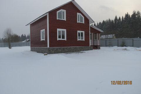 Дом 140 м2, Брус, 15 соток, д. Марино - Фото 2