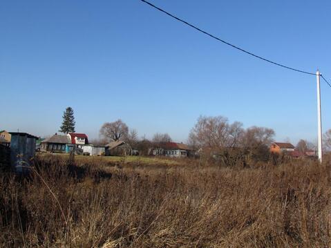 Продается земельный участок в д. большое Карасево Коломенского района - Фото 1