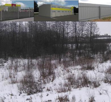Земельный участок промназначения в Калуге - Фото 1