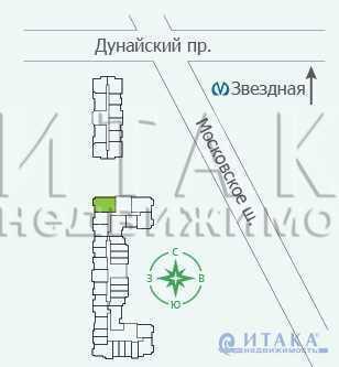 Продажа квартиры, м. Звездная, Московское ш. - Фото 3