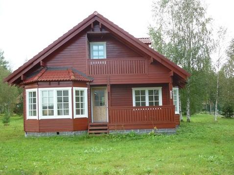 Прекрасный дом из бруса 127 кв.м. в Удальцово - Фото 1