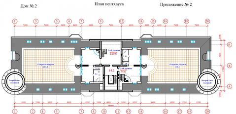 Продается двухуровневый пентхаус 293 кв.м. г. Химки ЖК Берег - Фото 1