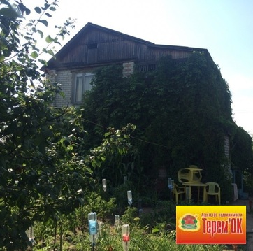 Двухэтажная кирпичная дача, СНТ Елочка 1 - Фото 1