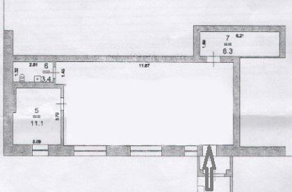Продаётся торговое помещение 82 метра на первом этаже с отдельным вход