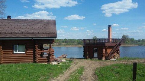 Со своим берегом на реке Малая Пудица, дом, баня - Фото 1