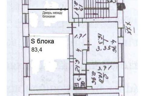 Офис 83м2, Офисное здание, 1-я линия, улица Матросская Тишина 23с1, . - Фото 1