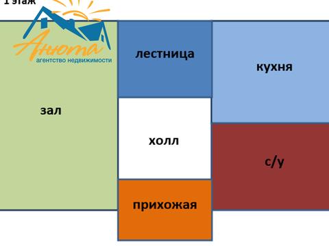 Продается двухэтажный новый дом вблизи деревни Сатино Боровского район - Фото 4