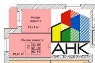 Продам 2-к квартиру, Ярославль город, улица Вишняки 5 - Фото 1