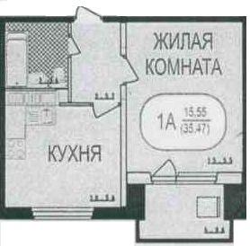 2 к.кв. г. Подольск, ул. Академическая, д. 8 - Фото 1