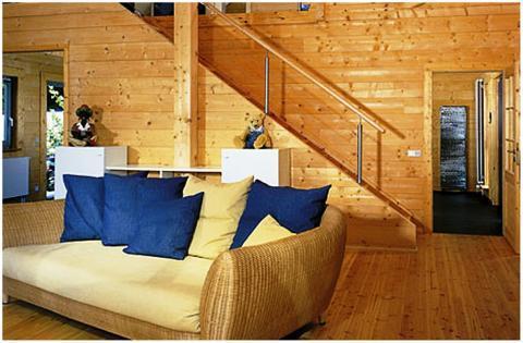 Коттедж из клееного деревянного массива - Фото 1