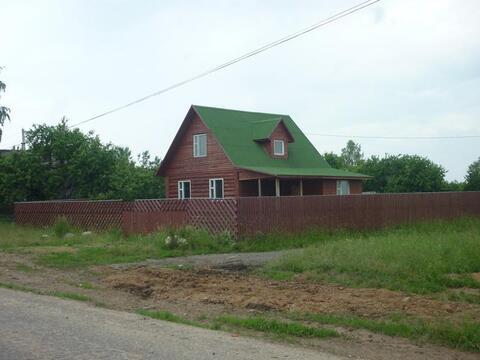 Дом 120 м2 на участке 21 сотка в деревне Неклюдово Кимрского района - Фото 1