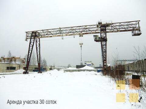 Аренда участка с краном в Новом Девяткино, 30 соток - Фото 1