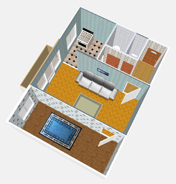 Продажа светлой 2-х комнатной квартиры в г. Гатчина - Фото 4