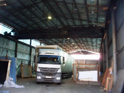 Помещение под производственную деятельность с кран-балкой - Фото 1