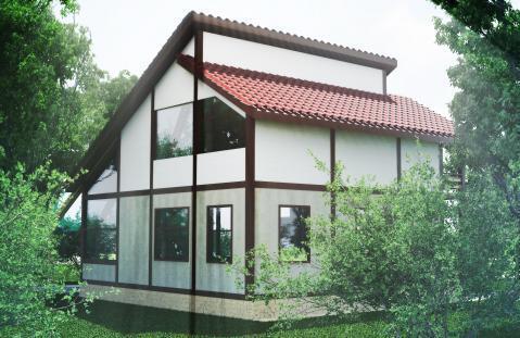 Дом 160 кв. м.+ 6 сот. э/э, газ - Фото 1
