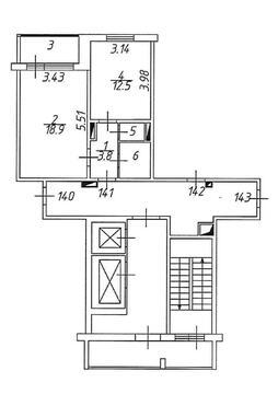 """1-комнатная квартира в ЖК """"Домодедово Парк"""", Высотная, д. 3 - Фото 5"""