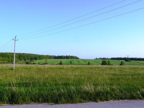 Ушаковка деревня участок 33.65 гектар Заокский район - Фото 1